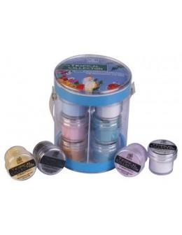 Zestaw akryli kolorowych Tropical Collection 12 szt.