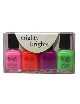 Zestaw lakierów Color Club Mighty Brights 4 szt.