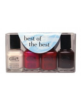 Zestaw lakierów Color Club Best Of The Best 4 szt.