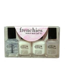 Zestaw lakierów Color Club Frenchies French Manicure 4 szt.
