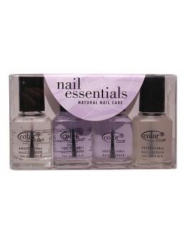 Zestaw lakierów Color Club Nail Essentials Natural 4 szt.