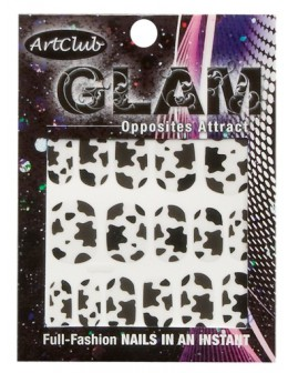 Art Club Glam Decals - Opposites Attract
