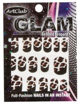 Art Club Glam Decals - Refined Leopard