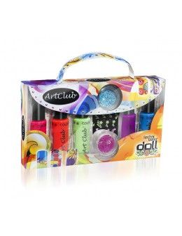 Art Club Technicolor Doll Kit