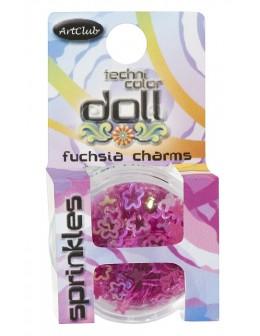 Art Club Technicolor Doll Fuchsia Charms Sprinkles