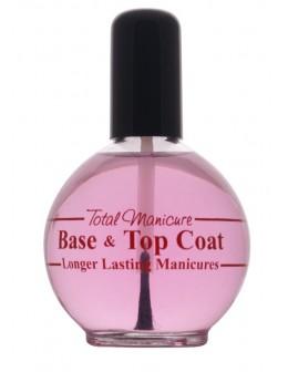 Blue Cross Base & Top Coat Long Lasting Manicures 2.5oz