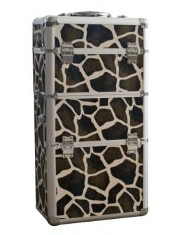 Kufer na kosmetyki - Giraffe Metal Case MT025