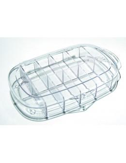 Pojemnik na 100szt. tipsów owalne - Plastic box on nail tips (100 pcs)