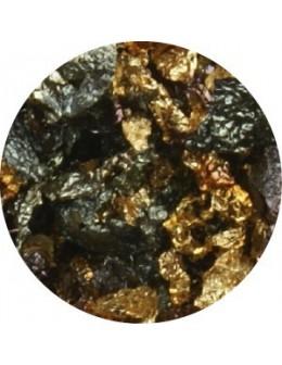 Pazłotko melanż - złoto czerwone