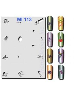 Szablon do pistoletu MI113