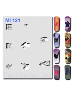 Szablon do pistoletu MI121