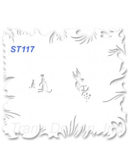 Szablon do pistoletu ST117