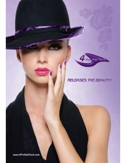 Plakat 4Pro Nail Tech Salon Poster