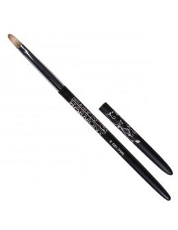 Pędzelek Hand&Nail Harmony Gel Oval Brush no. 6