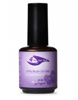 4Pro Nail Tech Brush On Gel 15ml