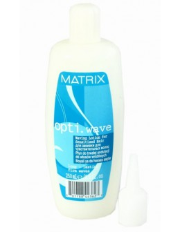 MATRIX opti.wave Long - Lasting Firm Waves 250ml - Waving Lotion for Sensitised Hair