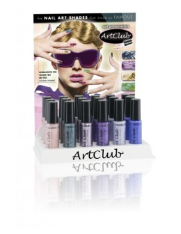 Wystawka Nail Stripper Collection 18 szt. Best of Art Club I