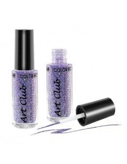 Art Club Nail Lacquer 1/4oz. Lilac Hologram