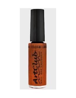 Art Club Nail Lacquer 1/4oz. - Copper Glitter