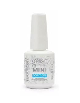 Żel nawierzchniowy Soak Off GELISH MINI Hand&Nail Harmony Top It Off 9ml