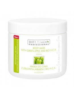 Bielenda Body Mask 600g - With Green Apple and Bio H.C.A