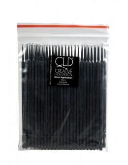 Aplikatory z końcówką z mikrofibry CLD Micro Applicators 50szt.