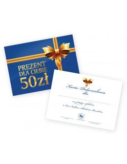 Gift card 50zł