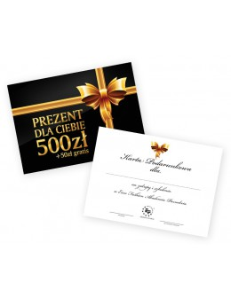Gift card 500zł + 50zł