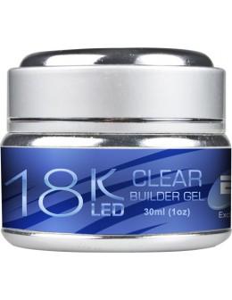 EFexclusive 18K LED Gel 30ml - Clear Builder