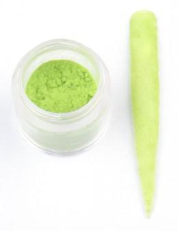 Welur EF Velvet - zielony