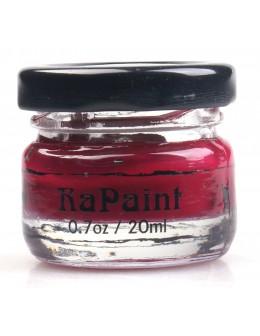 Farbka akrylowa RaNails RaPaint - R011 - Wine Red
