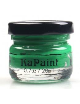 Farbka akrylowa RaNails RaPaint - R019 - Malachite