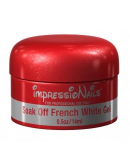 ImpressioNails Soak Off Gel 0.5oz - French White