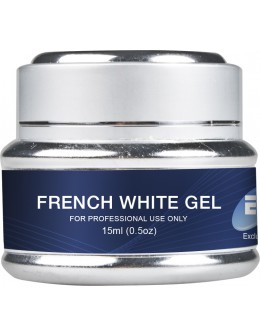 Żel EF Exclusive French White 15ml