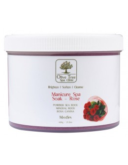 Olive Tree Spa Clinic Manicure Spa Soak 600g - Rose