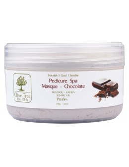 Maska Olive Tree Spa Clinic Pedicure Spa Masque 250g - Chocolate