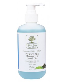 Olive Tree Spa Clinic Pedicure Spa Massage Oil 236ml - Green Tea