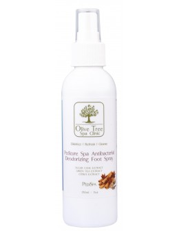 Olive Tree Spa Clinic Pedicure Spa Antibacterial & Deodorizing Foot Spray 150ml