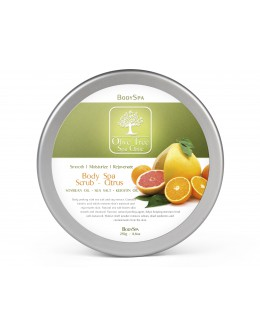 Olive Tree Spa Clinic Body Spa Sugar Scrub Citrus 250g