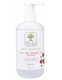 Olejek do ciała Olive Tree Spa Clinic Body Spa Massage Oil 236ml - Sensual