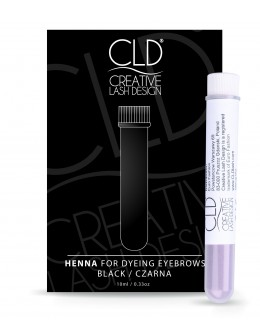 CLD Henna for Dyeing Eyebrows 10ml - Black