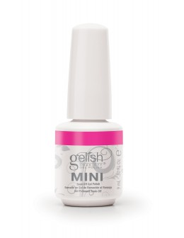 Hand&Nail Harmony GELISH MINI Soak Off Gel Polish All About The Glow Collection 0.3oz - Make Your Blink Pink