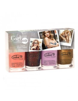 Zestaw mini Color Club Girl About Town Collection