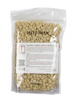 Wosk w drażetkach DepiCare Hot Wax 300g - mleczny