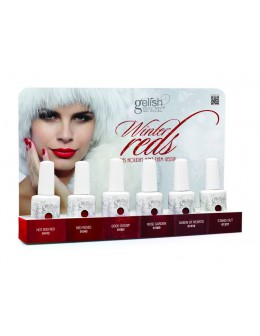 Zestaw Hand&Nail Harmony Winter Reds Gelish Collection