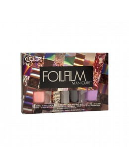 Zestaw Color Club Foilfilm Manicure - Animal Wonder