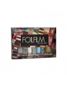 Zestaw Color Club Foilfilm Manicure - Deep Space