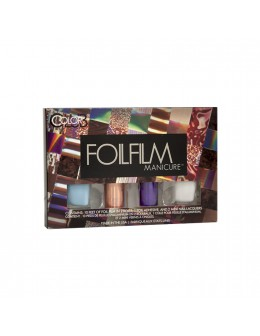 Zestaw Color Club Foilfilm Manicure - Sweet Dream