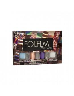 Zestaw Color Club Foilfilm Manicure - Sweet Dream