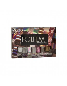 Zestaw Color Club Foilfilm Manicure - Over The Rainbow